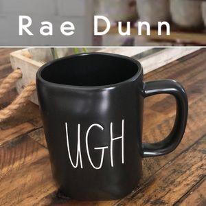"""Rae Dunn """"Ugh"""" 16 oz Ceramic Mug Charlie Brown"""